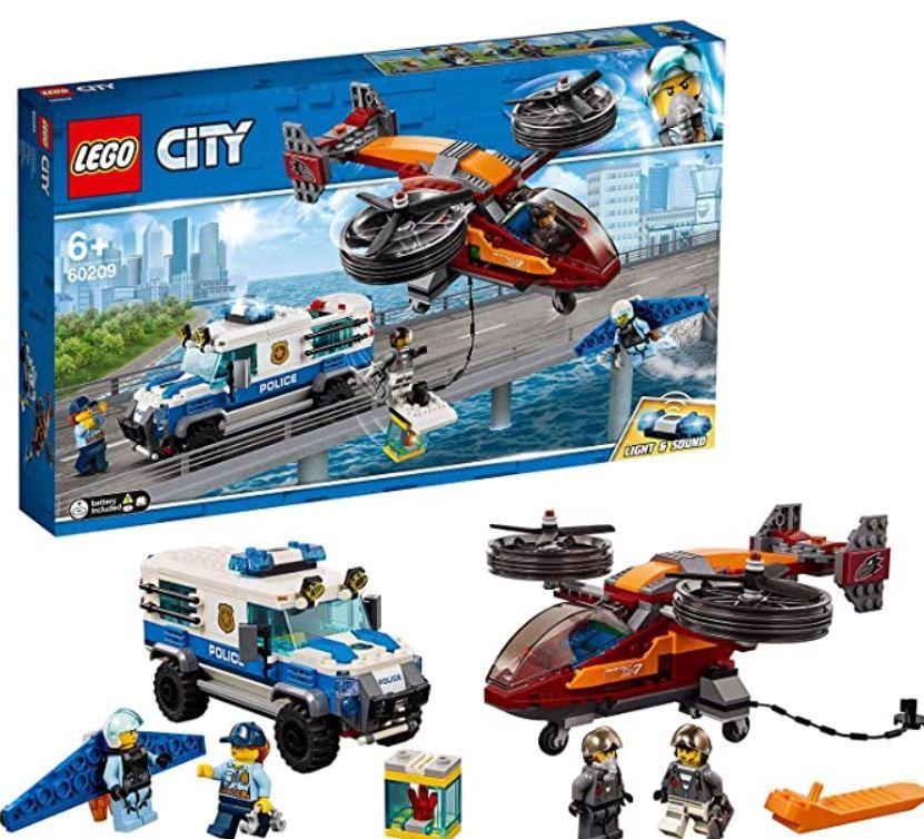 LEGO City 60209 Polizei Diamantenraub für 29,99€ (statt 40€)