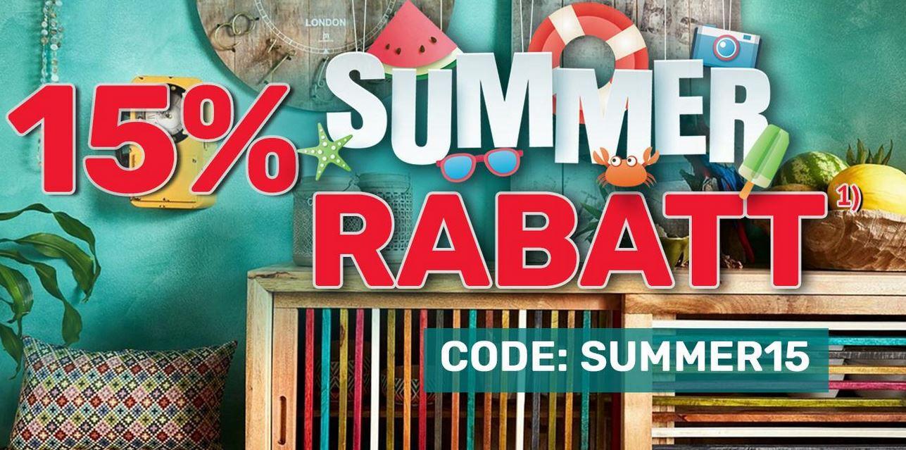 Neckermann Summer Sale  + 15% extra Rabatt auf alles ausser Technik VSK frei ab 75€  bis Mitternacht