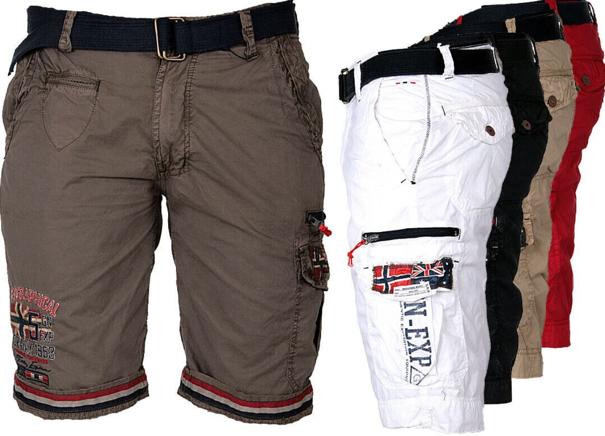 Geographical Norway Herren Cargo Shorts für je 35,51€ (statt 45€)