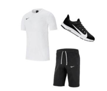 Geomix: 3 teiliges Nike Premium Trainingsset (Shirt, Shorts + Schuhe) für 53,80€ (statt 69€)