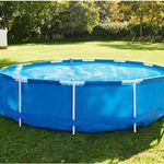 Vorbei! Bestway Metal Frame Pool Ø 366 mit reichlich Zubehör für 150,19€ (statt 249€)