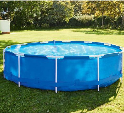 Bestway Metal Frame Pool Ø 366 mit Zubehör für 89,99€ (statt 182€)