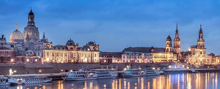 ÜN in Dresden direkt an der Elbe inkl. Frühstück & Mineralwasser für 27,50€ p.P
