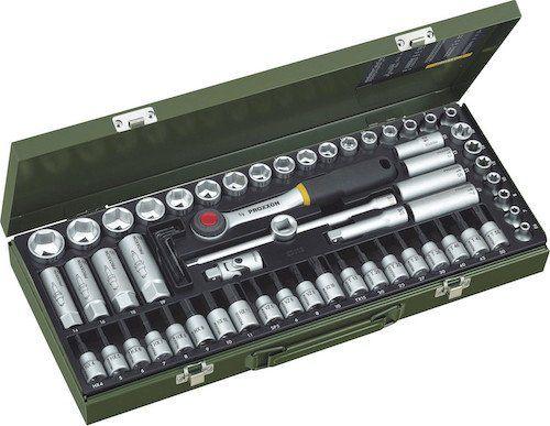 Ausverkauft! Proxxon Industrial Steckschlüsselsatz metrisch 3/8 (10 mm) 65 teilig für 59,55€ (statt 70€)