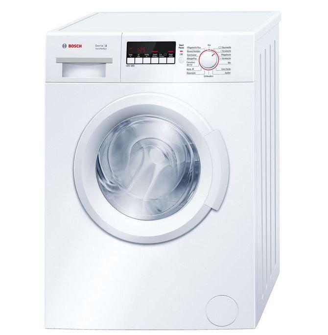 Bosch WAB 28270 Waschmaschine 6kg u. 1.400U/min für 384€ (statt 504€)