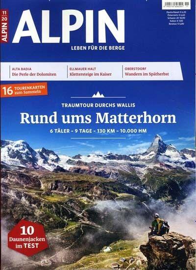 """12 Ausgaben der Zeitschrift """"Alpin"""" für 74,40€   Prämie: 65€ Amazon Gutschein"""