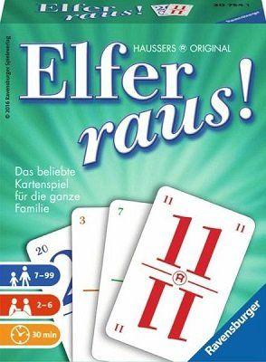 Ravensburger Elfer raus!   Kartenspiel für 7,27€ (statt 10€)