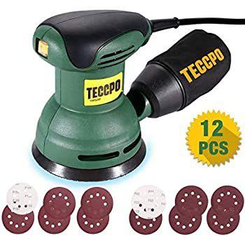 Teccpo TARS23P 280W Exzenterschleifer inkl. 12x Schleifpapier für 25,99€ (statt 36€)