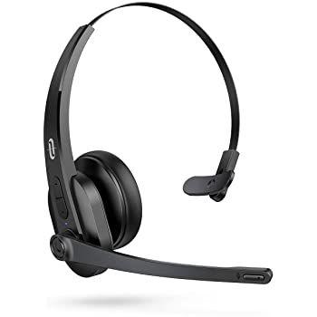 TaoTronics BH041 Bluetooth Office Headset mit max. 34 Stunden Laufzeit für 35,99€ (statt 46€)