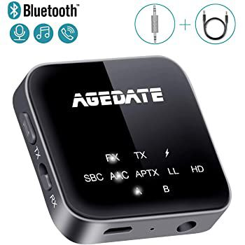 2in1 Bluetooth 5.0 Adapter Transmitter & Empfänger für 20,99€ (statt 30€)