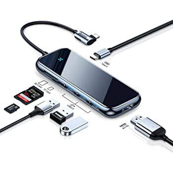 Baseus USB C 7in1 Hub mit 100W PD, 3x USB & mehr für 22,99€ (statt 46€)