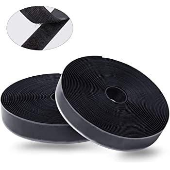 2x 8m selbstklebendes Klettband mit Klettverschluss (20mm) für 5,85€   Prime