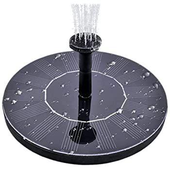 Solar Springbrunnen bis 1,8 Watt ab 7,60€   Prime