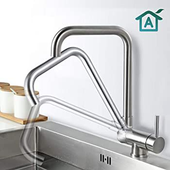 AiHom 360° schwenkbar Küchenwasserhahn für 31,99€ (statt 50€)