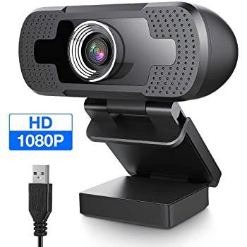 Eivotor 1080p Webcam mit Autofokus für 23,87€ (statt 40€)