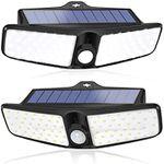 LED Solar Außenstrahler mit 100 LEDs & Bewegungsmelder für 19,99€ (statt 32€)