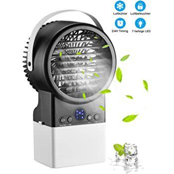 Homitt Mini Luftkühler & Befeuchter für 20,99€ (statt 46€)