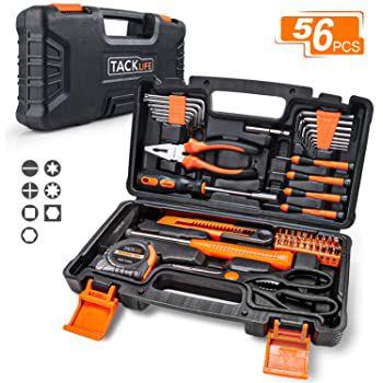 Tacklife HHK3B 56 tlg. Werkzeugkoffer für den Haushalt etc für 17€ (statt 24€)