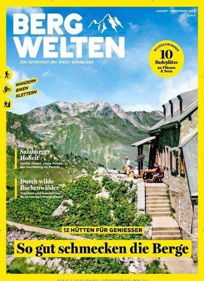 8 Ausgaben Bergwelten für 44€ + 40€ Amazon Gutschein
