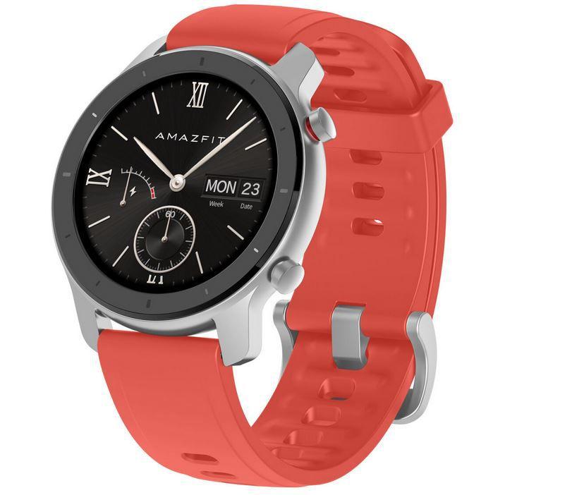 Amazfit GTR Smartwatch 42mm Rot EU für 79,35€ (statt 102€)