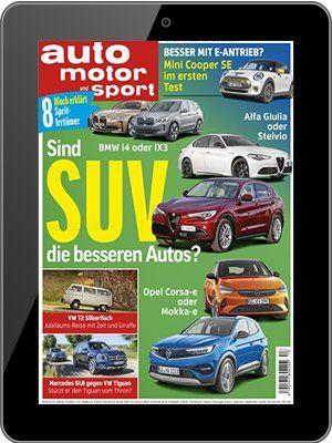 GRATIS! 13 Ausgaben auto motor und sport E Paper komplett kostenlos (statt 30€)