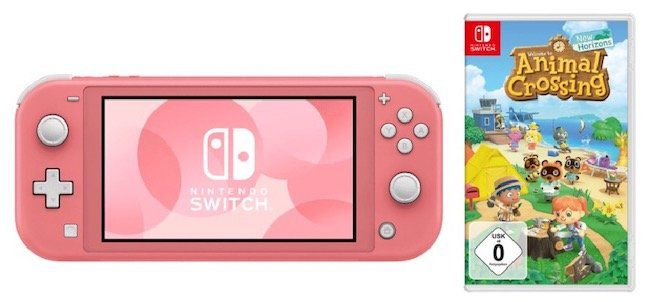 Nintendo Switch Lite + Animal Crossing: New Horizons für 227,69€ (statt 264€)