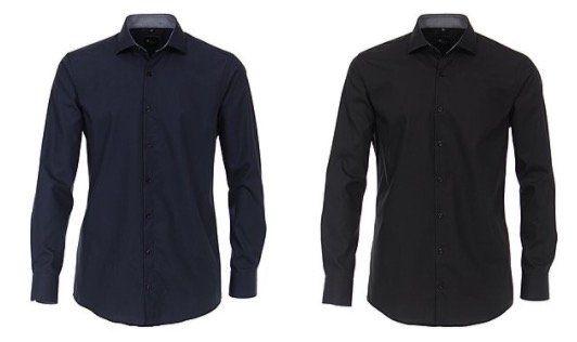 VENTI Hemden in Slim Fit mit Kent  oder Haifischkragen für je 19,49€ (statt 32€)