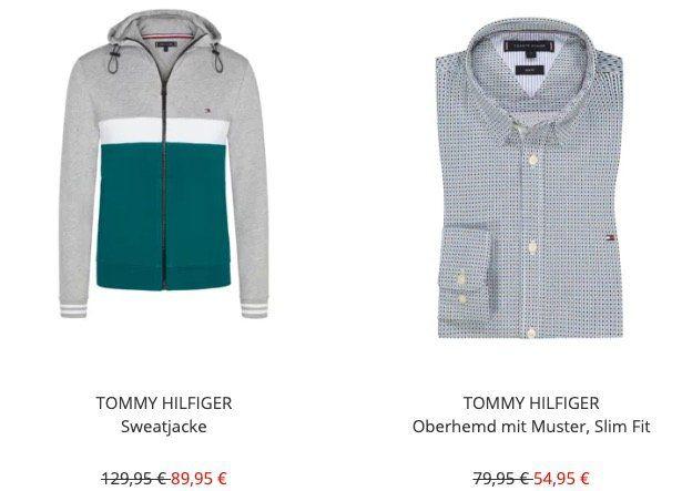 Tommy Hilfiger/Jeans Sale bei Hirmer + 10€ Gutschein   z.B. Hilfiger Sweatshirt für 39,95€ (statt 54€)