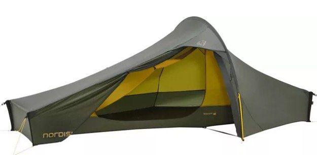Nordisk Telemark 1 LW 1 Personen Zelt mit sehr geringem Gewicht (<1kg) für 339,15€ (statt 395€)