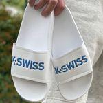 K-Swiss K-Slide Unisex Badelatschen bis Größe 47 für 12,83€ (statt 17€)