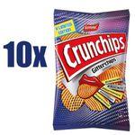10x Crunchips Gitterchips gesalzen in der 150g Packung für 11,97€ (statt 22€) – kurzes MHD