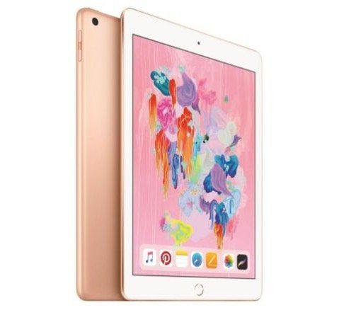 Apple iPad (2018) mit 128GB WiFi + 4G in Gold für 350,10€ (statt 394€)