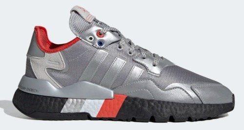 adidas Originals Nite Jogger im Silver Metallic Colourway für 54,57€