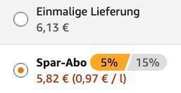 6er Pack Sanfte Säfte Himbeer Johannesbeer je 1 Liter ab 5,82€