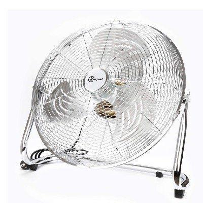 BMOT 120Watt Boden Ventilator im Chrom Design mit 50cm Durchmesser für 37,79€ (statt 54€)