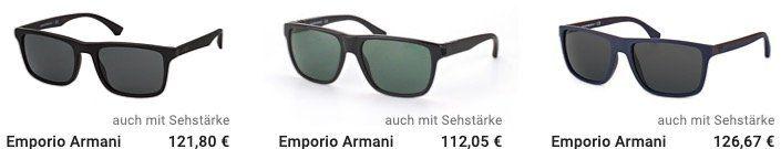 Marken Sonnenbrillen auf Wunsch mit Sehstärke mit 15% Extra Rabatt bei Mister Spex   z.B. Ray Ban oder Burberry