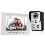 OWSOO 7 Zoll Video-Türsprechanlage mit Infrarot Nachtsicht und  Zwei-Wege-Gegensprechanlage für 65,99€ (statt 86€)