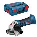Bosch Professional 18V System Akku Winkelschleifer GWS 18-125 V-LI ohne Akku in L-BOXX für 100,01€ (statt 117€)