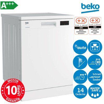 Beko DFN16430W A+++ Stand-Geschirrspüler unterbaufähig 60cm in Weiß für 319,90€ (statt 449€)