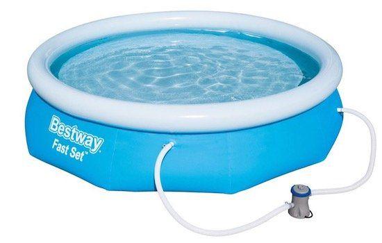 Bestway Fast Set Pool Set 305 x 76 cm mit Filterpumpe ab 53,48€ (statt 68€)