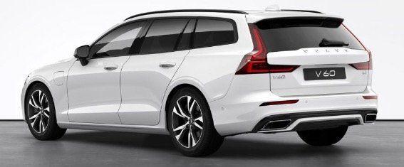 Gewerbe: Volvo V60 T6 AWD R Design Recharge Hybrid mit 252PS inkl. Wartung und Verschleiß für 199€ netto   LF 0,38