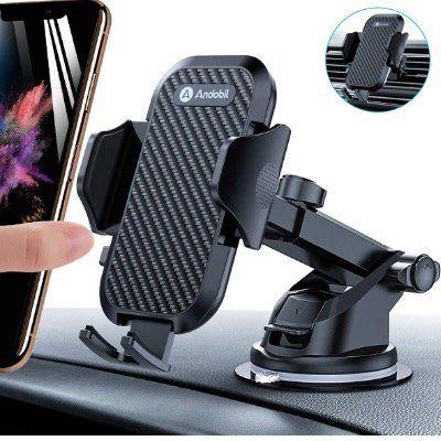 Andobil Auto Handyhalterung für Lüftung oder Saugnapf für 14,99€ (statt 20€)