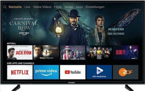 Grundig 49 VLX 7020 – 49 Zoll UHD Fernseher als Rückläufer für 229€ (statt 330€)