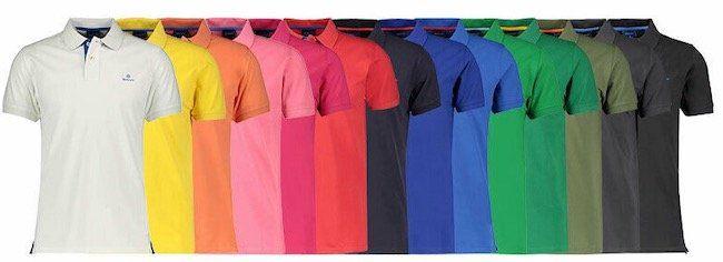Gant Herren Poloshirt Contrast Collar für 49,90€