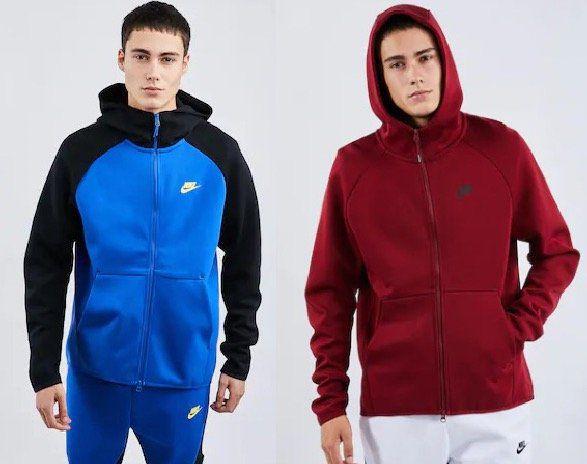 Nike Full Zip Hoodie aus Tech Fleece für 49,99€ (statt 63€)   S, XL, XXL