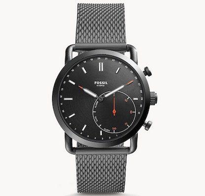 Fossil Q Commuter Hybrid Smartwatch mit Milanaise Armband für 100€