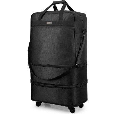 Hanke Faltbarer Koffer Reisetasche mit Rollen für 22,04€ (statt 55€)