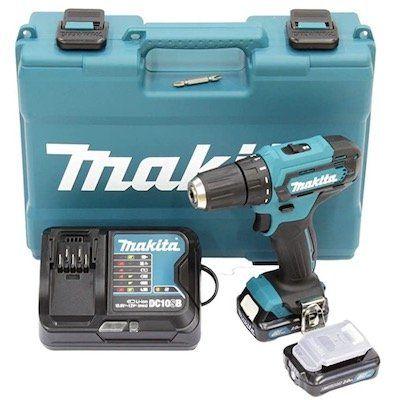 Makita DF333DSAE 12V Akku Bohrschrauber inkl. 2x 2Ah im Koffer für 96,09€ (statt 110€)