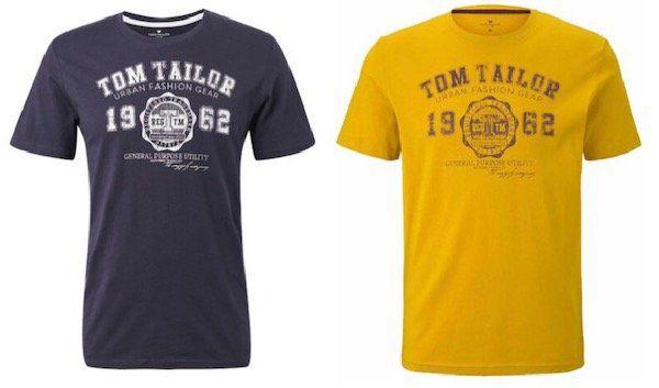 Tom Tailor Herren Rundhals Kurzarm T Shirts ab je 7,96€   Restposten
