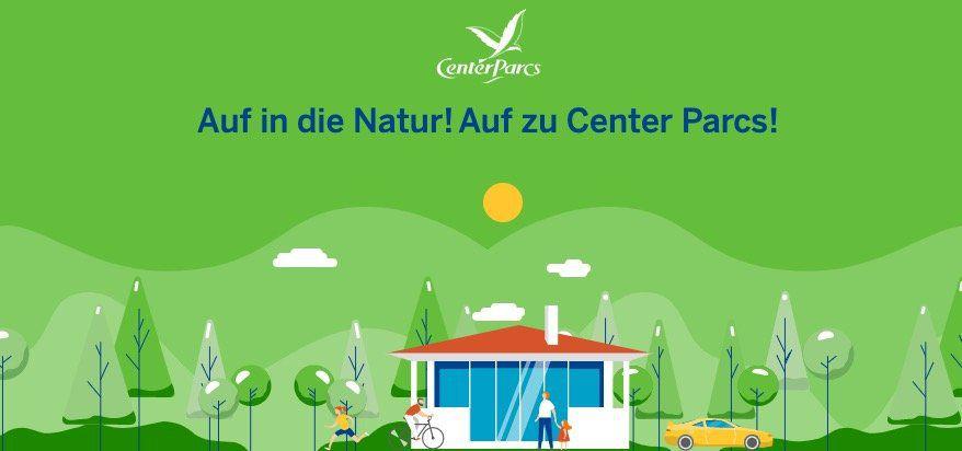 Center Parcs: 175€ Gutschein + 30€ Aktivitäten Gutscheine dank Gewinnspiel